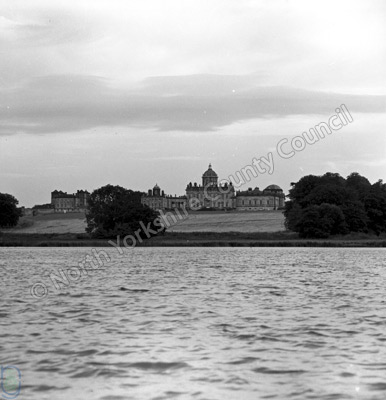Castle Howard and Lake, 1962